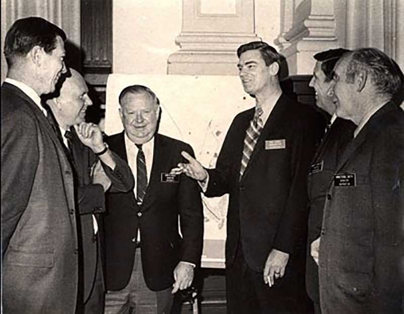 Representative Reid W. Harris guided the Coastal Marshlands Protection Act of 1970 to passage in the Georgia House and Senate